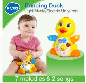 Baby toy duck