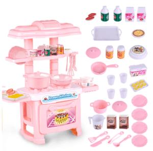 مجموعة المطبخ البلاستيكية