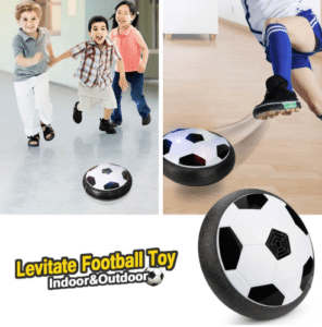 משחק כדורגל רחף עם שערים