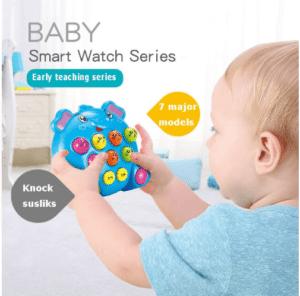 Baby electronic elephant game
