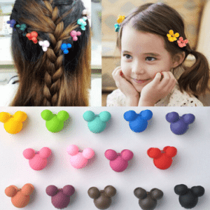 Hair styled clips