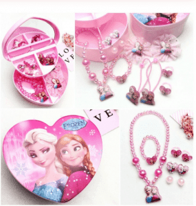 Jewelry set for girls