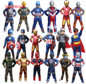 Costumes in superhero characters