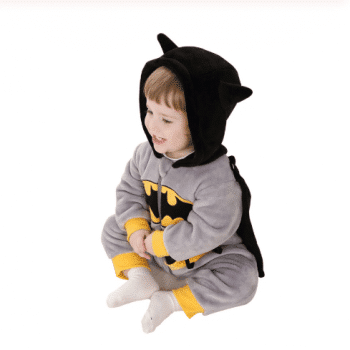 Baby superhero costume