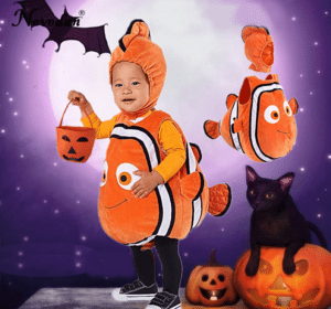 Nemo costume for babies