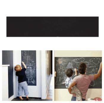 Chalkboard painting sticker