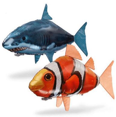 דג/כריש מעופף המופעל בשלט