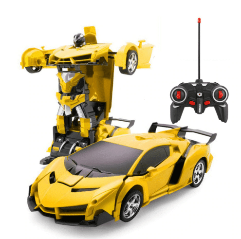 מכונית שהופכת לרובוט