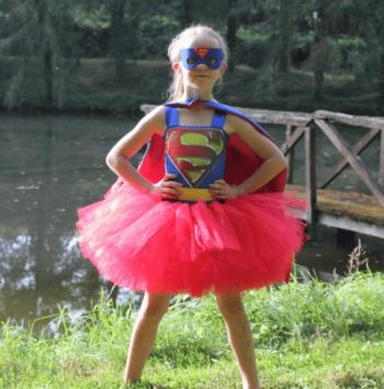 Batgirl / Supergirl costumes