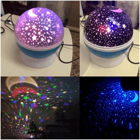 מנורת לילה LED