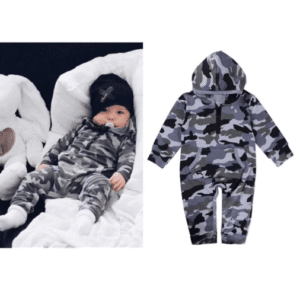 Military Infant Overall