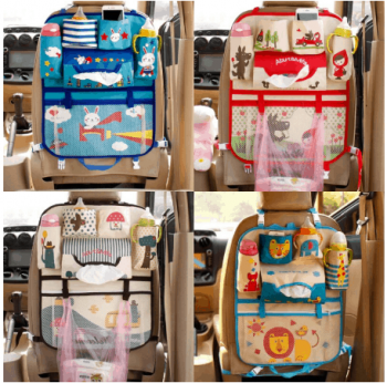 Children's car organizer