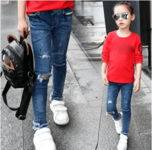 מכנס ג'ינס לילדות
