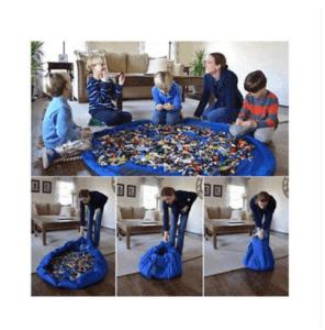 Folding toy surface