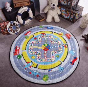 שטיח מעוצב לחדר ילדים