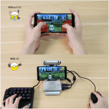 Cell Phone Gaming Station
