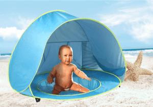 אוהל משולב בריכה לתינוקות