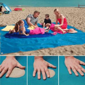 מחצלת ים דוחה חול