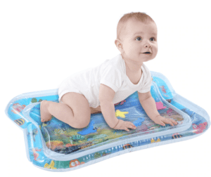 Baby water mat and fish