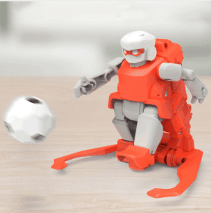 Remote control football robot