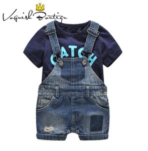 אוברול ג'ינס לתינוקות