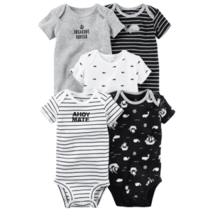 Designed bodysuit for babies