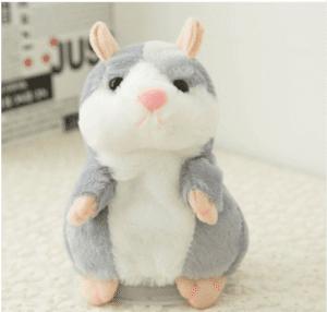 A hamster doll speaks to children