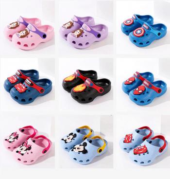 Flip flops in Disney characters