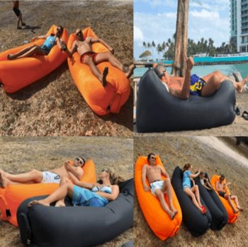Inflatable beach sofa