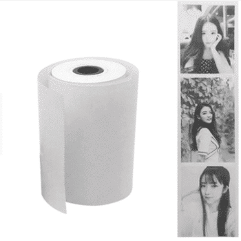Smartphone printer paper
