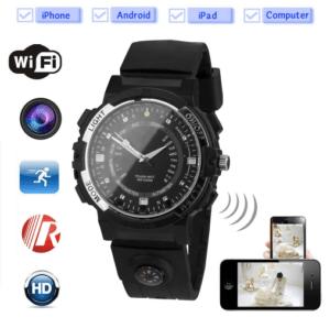 Wristwatch with camera