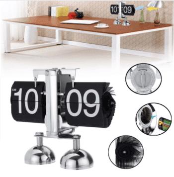Retro design desk clock