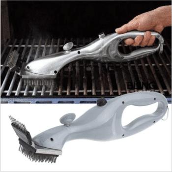 BBQ steam brush