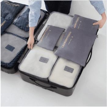 Organizer for suitcase