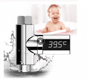 مقياس درجة الحرارة الرقمي للحنفية