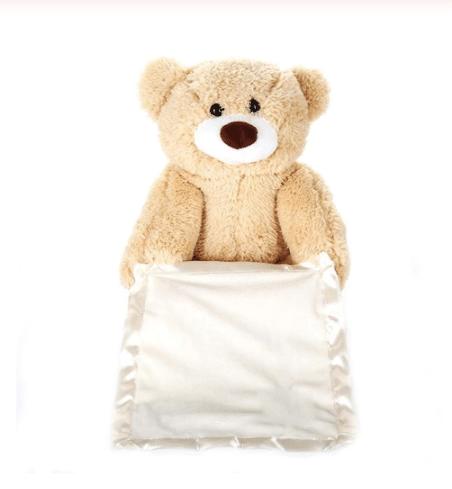 דובי מתחבא ומדבר לתינוקות