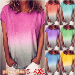 חולצה משולבת צבעים