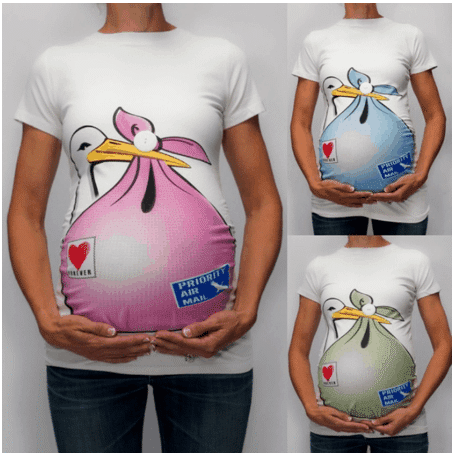 טי שירט לנשים בהריון