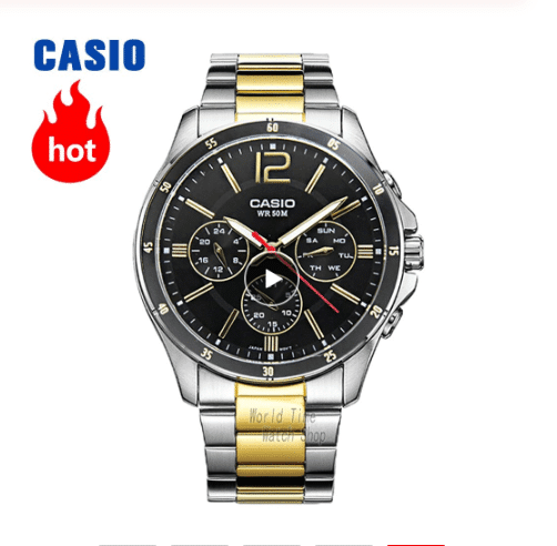 שעון יד casio