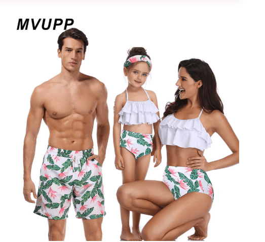 Swimwear is compatible with the whole family