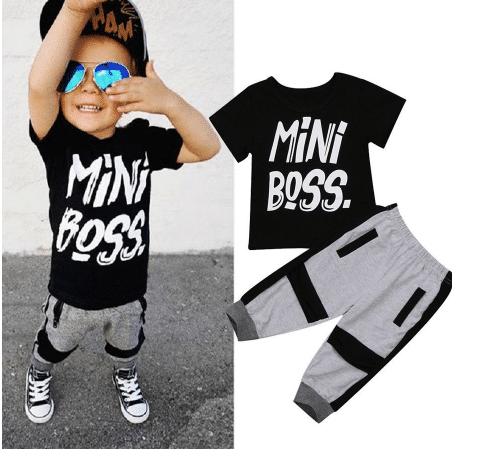 חליפת mini boss לילדים