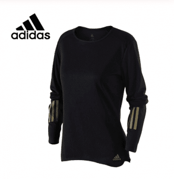A long adidas shirt for women