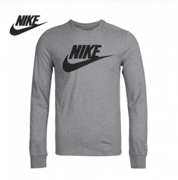 A long Nike men's shirt