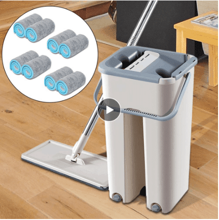 Dust cleaning and washing appliances