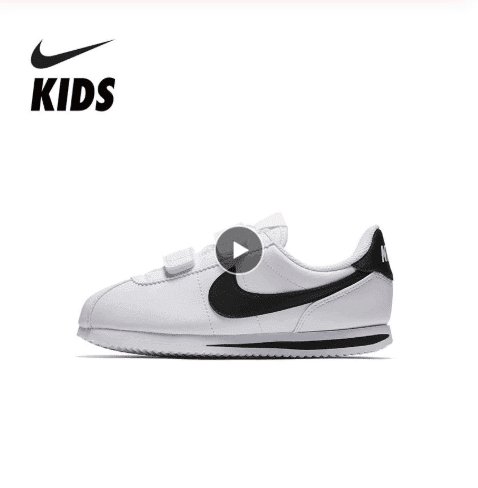 נעלי מותג נייק לילדות