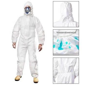 Corona shielding suit